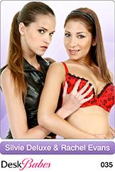 DeskBabes - Silvie Deluxe and Rachel Evans - Duo