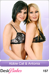 DeskBabes - Abbie Cat and Antonia - Duo