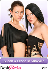 DeskBabes - Susan and Leonelle Knoxville - Duo