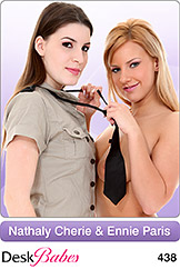 DeskBabes - Nathaly Cherie and Ennie Paris - Duo