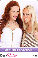 DeskBabes - Emy Russo and Carla Cox - Duo