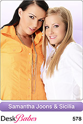 DeskBabes - Samantha Joons and Sicilia - Duo
